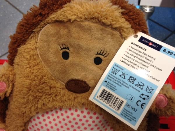 Spielzeug-Wärmekissen mit CE-Kennzeichnung